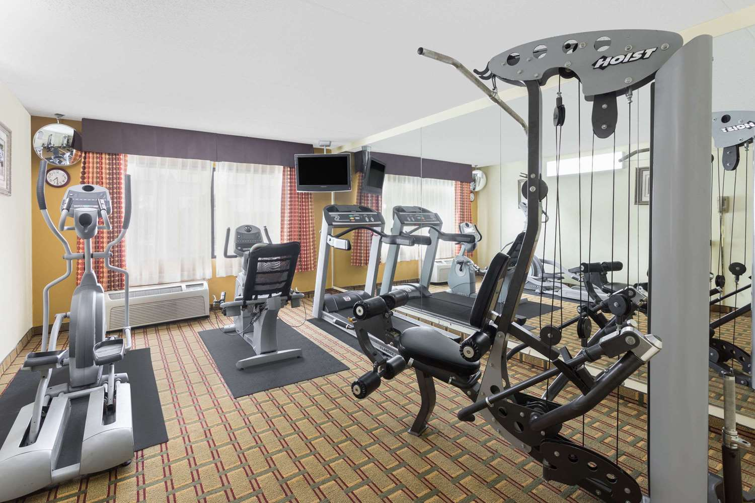 Fitness/ Exercise Room - Ramada Hotel Southeast Asheville