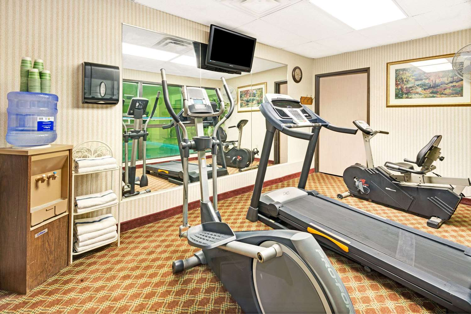 Fitness/ Exercise Room - Baymont Inn & Suites Lawrence