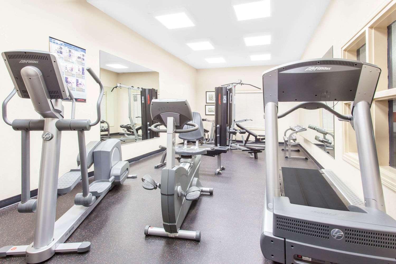 Fitness/ Exercise Room - Ramada Inn Pincher Creek