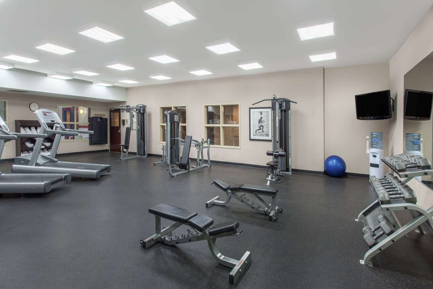 Fitness/ Exercise Room - Ramada Inn Brooks