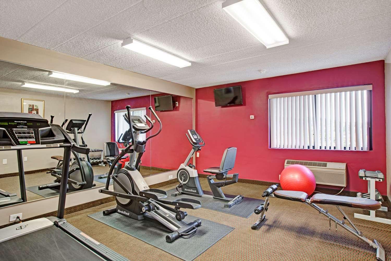 Fitness/ Exercise Room - Ramada Inn Rockaway