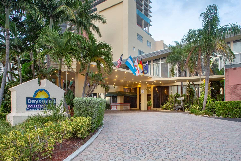 Exterior view - Days Hotel Thunderbird Beach Resort Sunny Isles
