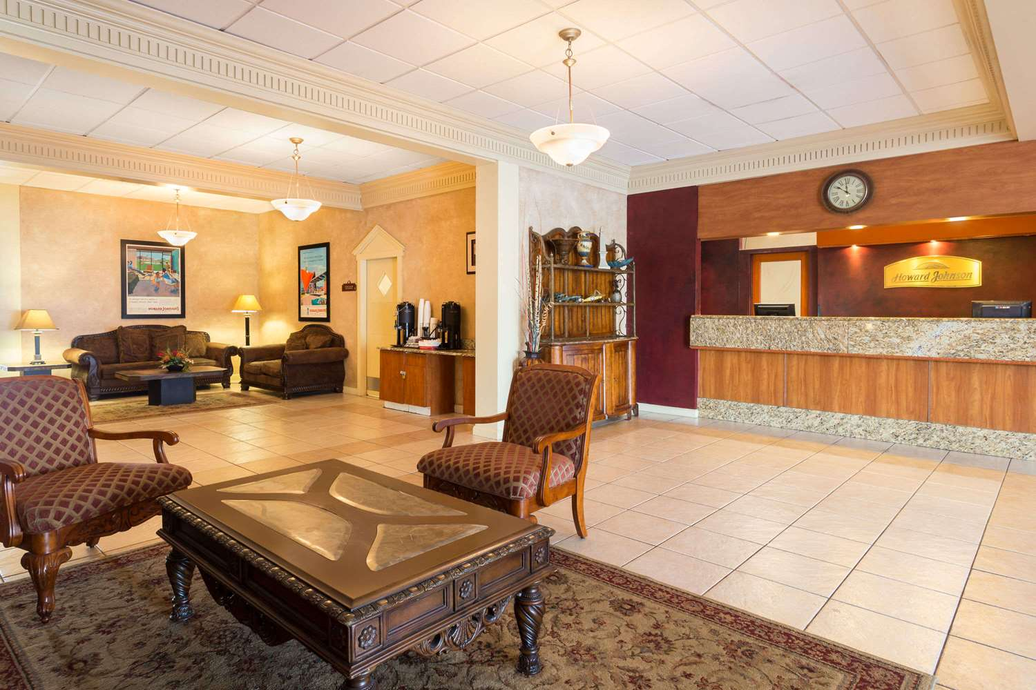 Lobby - Howard Johnson Lakeland