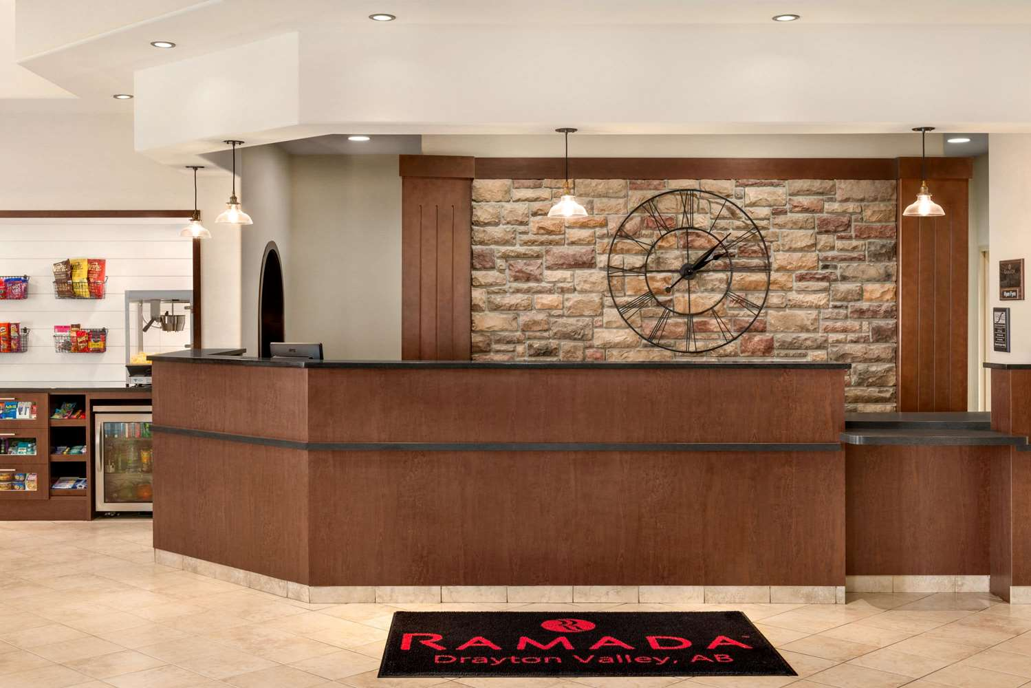Lobby - Ramada Inn Drayton Valley
