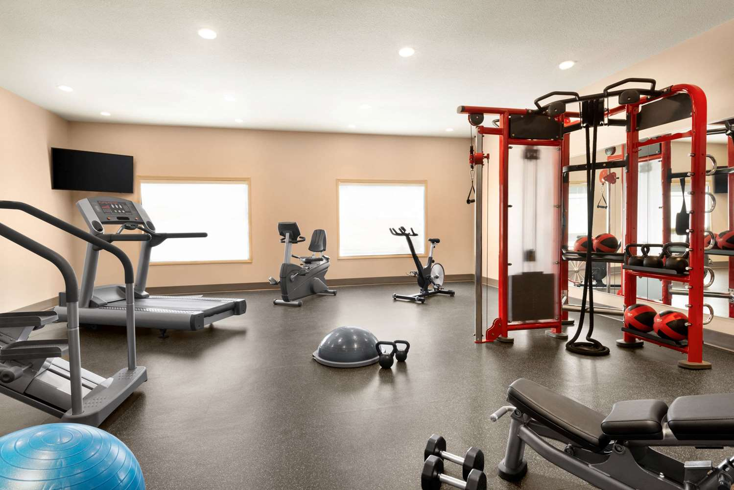 Fitness/ Exercise Room - Ramada Inn Drayton Valley