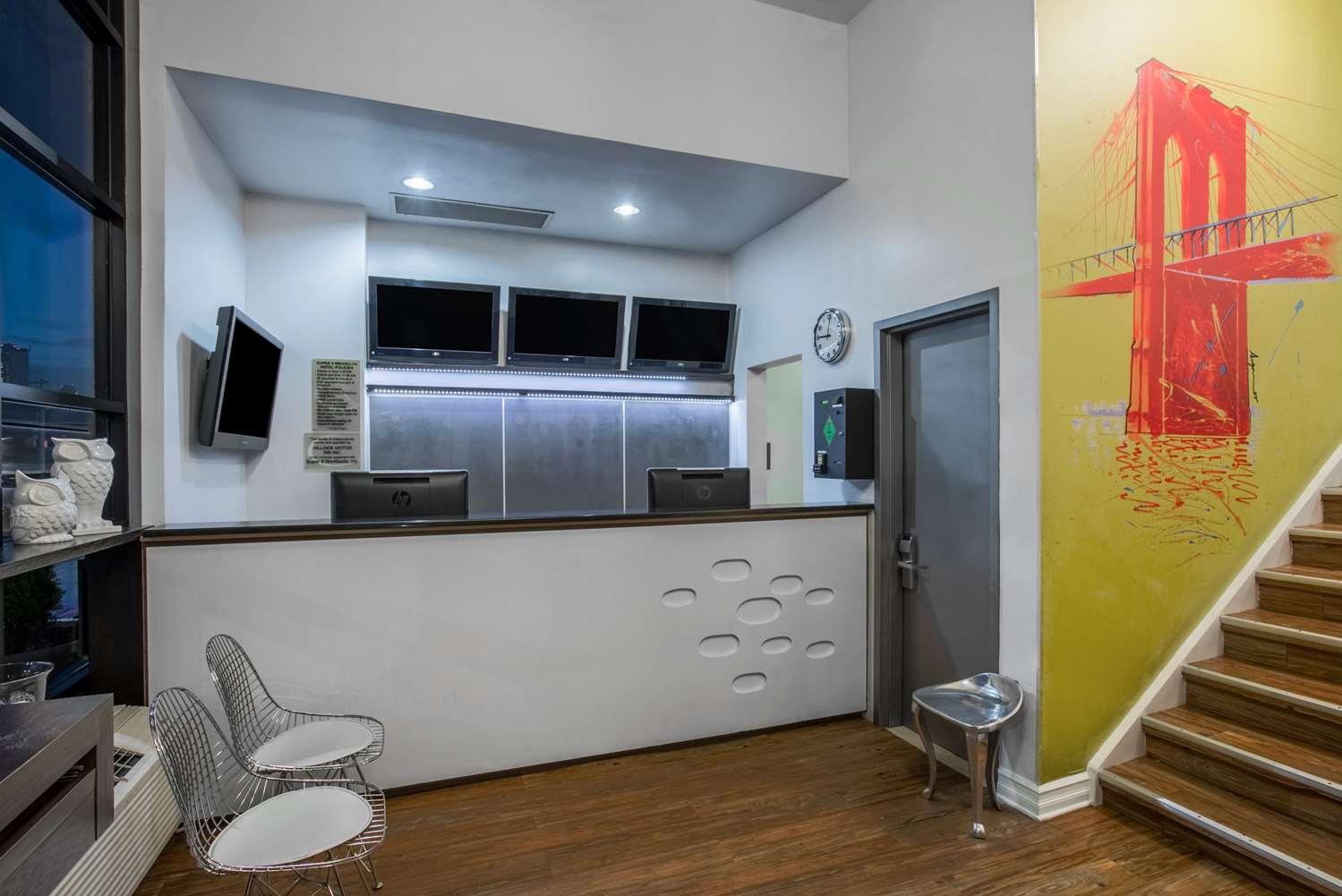 Lobby - Super 8 Hotel Brooklyn Heights