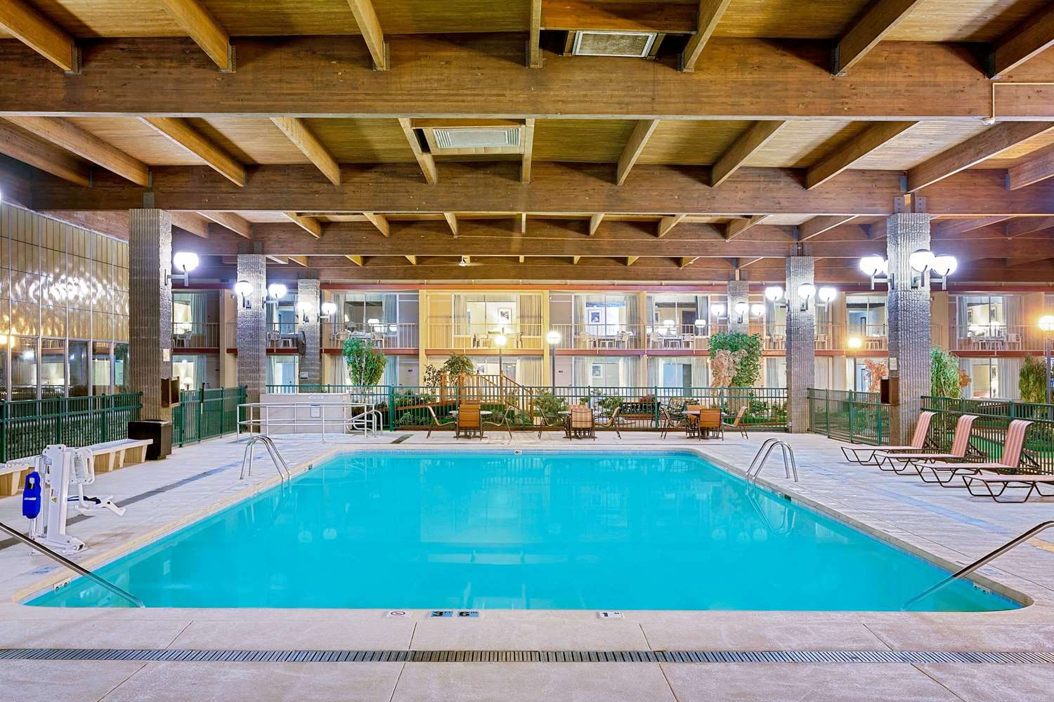 Pool - Ramada Hotel & Conference Center Mitchell