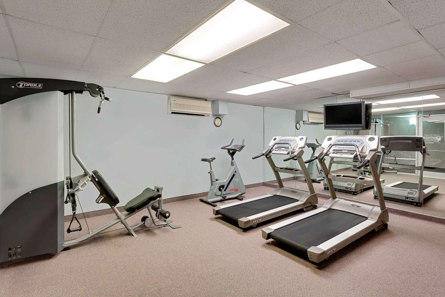 Fitness/ Exercise Room - Ramada Hotel & Conference Center Mitchell