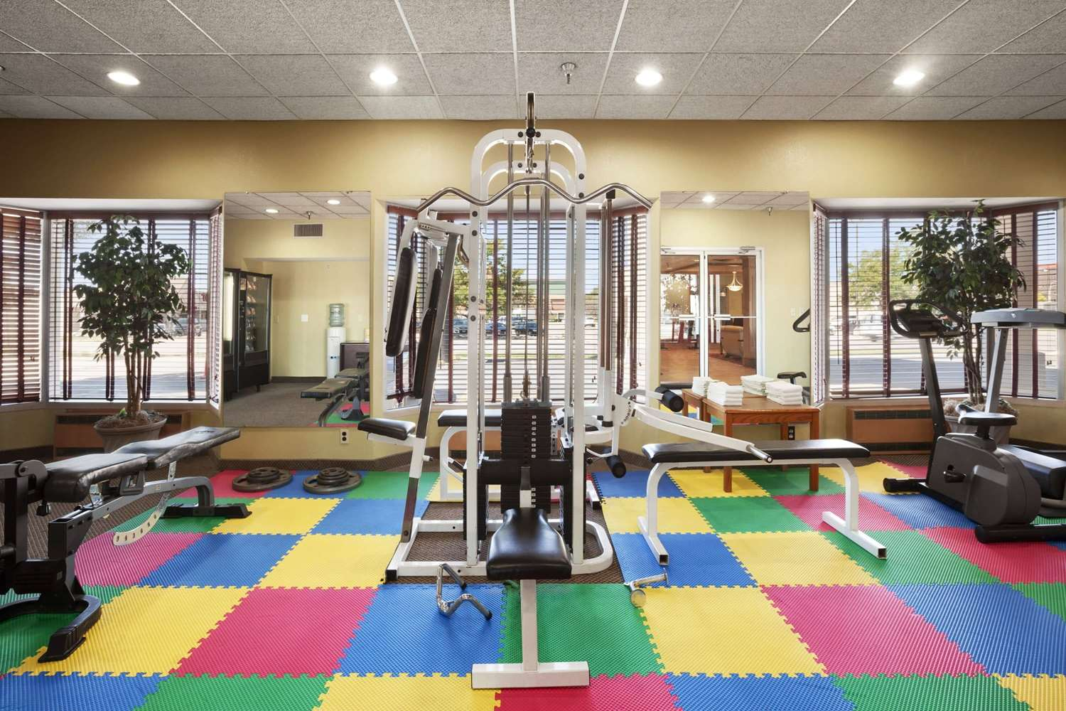 Fitness/ Exercise Room - Ramada Hotel City Centre Sioux City