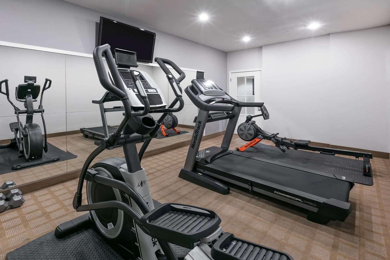 Fitness/ Exercise Room - Microtel Inn & Suites by Wyndham Lafayette
