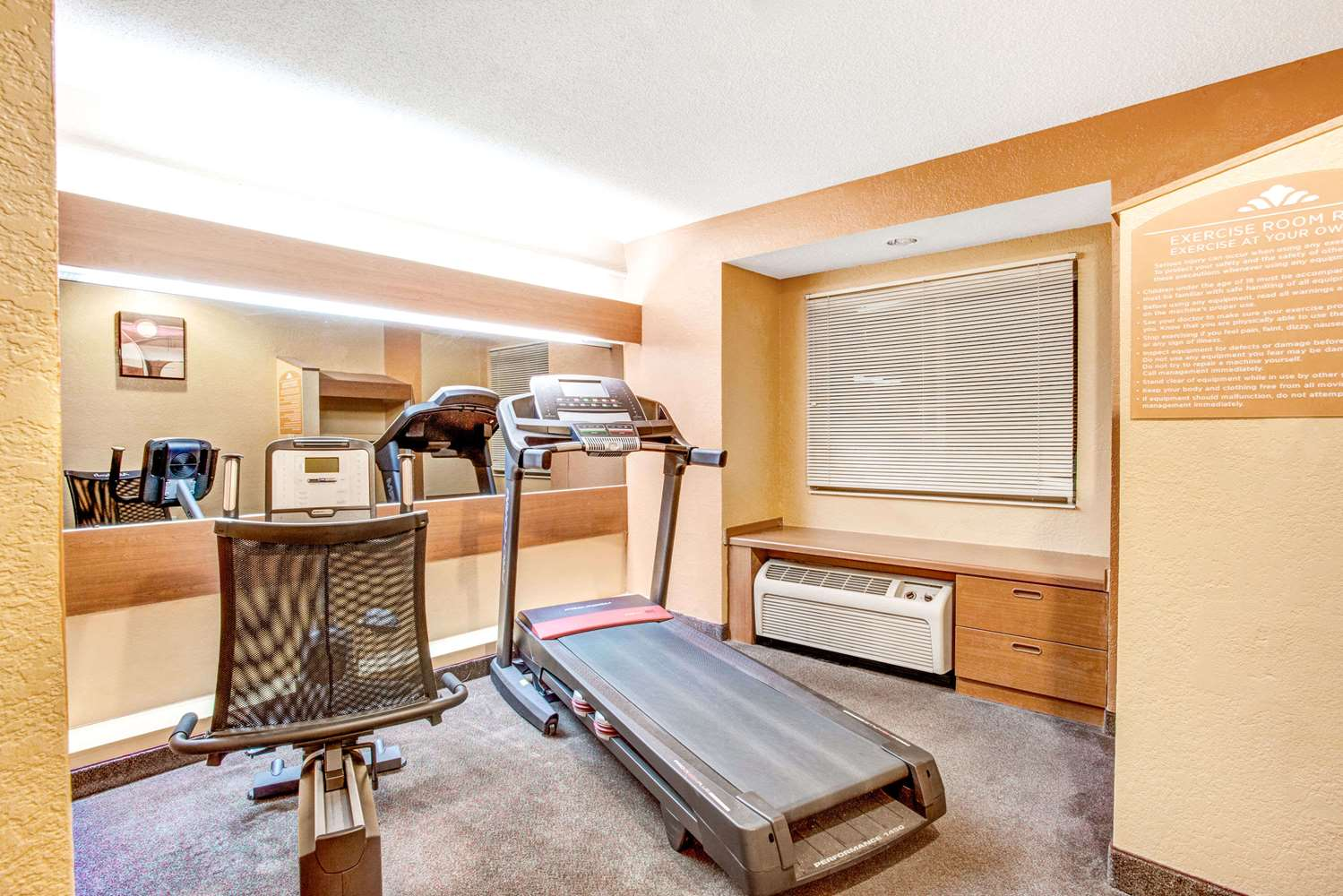 Fitness/ Exercise Room - Microtel Inn by Wyndham Newport News