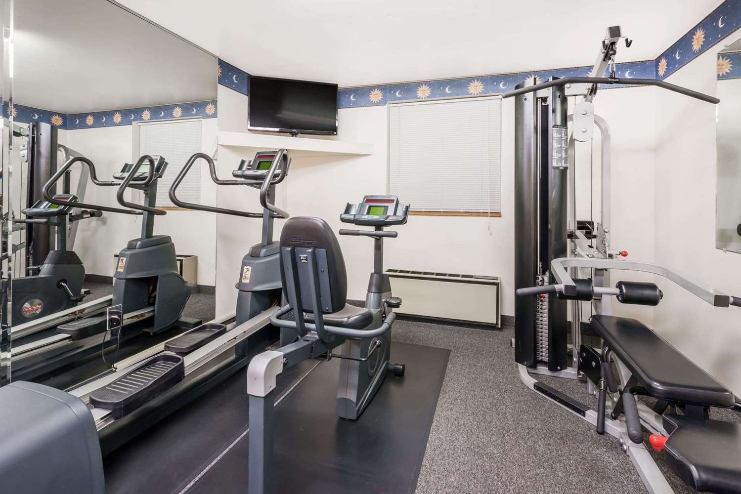 Fitness/ Exercise Room - Super 8 Hotel State College