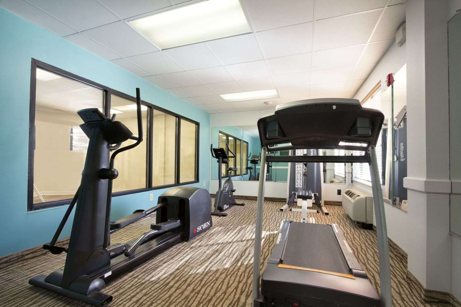 Fitness/ Exercise Room - Wingate by Wyndham Hotel Fort Gordon Augusta