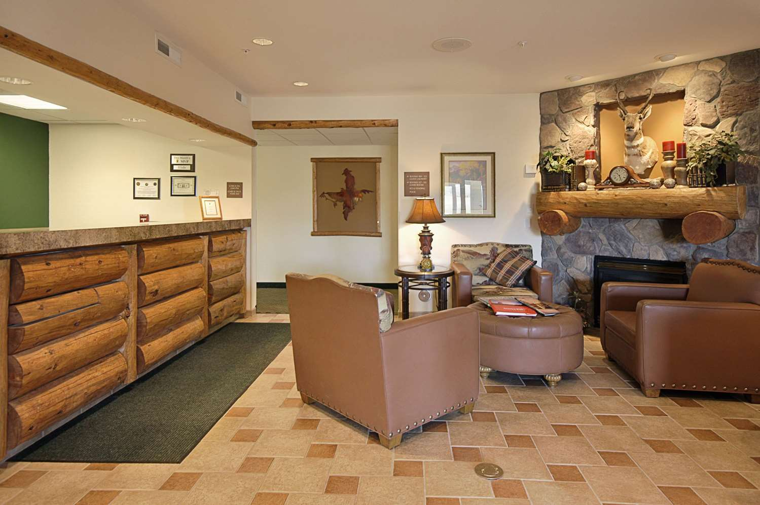 Lobby - Super 8 Hotel Wheatland