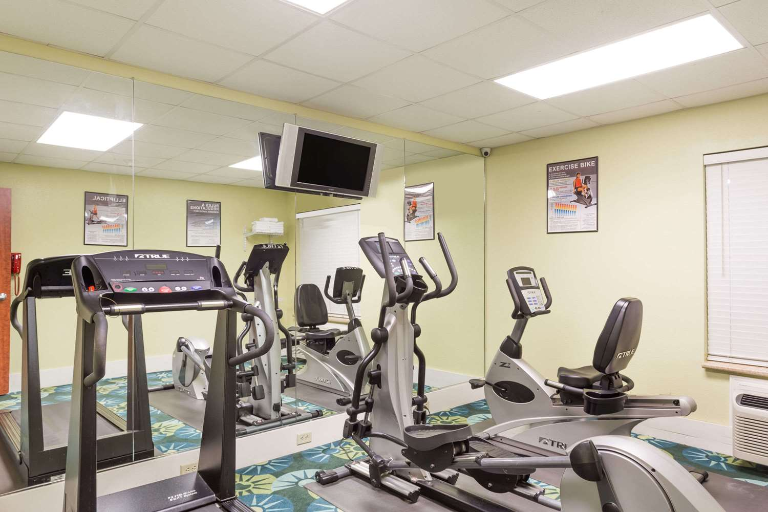 Fitness/ Exercise Room - Days Inn & Suites Port Wentworth