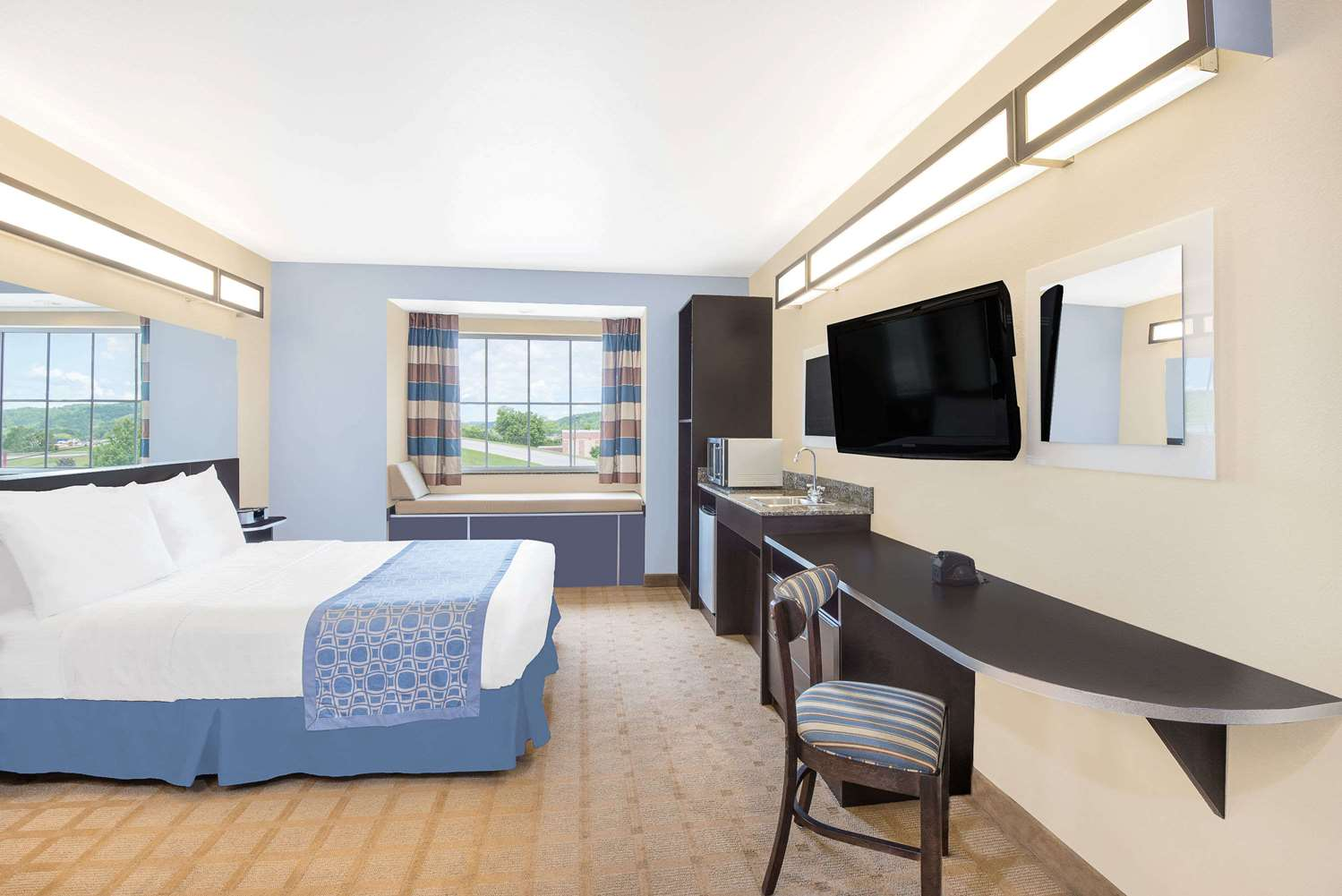 Room - Microtel Inns & Suites by Wyndham Waynesburg