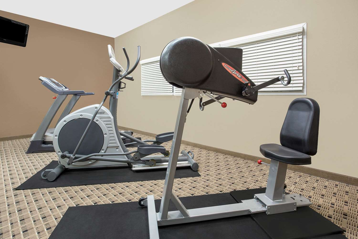 Fitness/ Exercise Room - Microtel Inn & Suites by Wyndham Mansfield