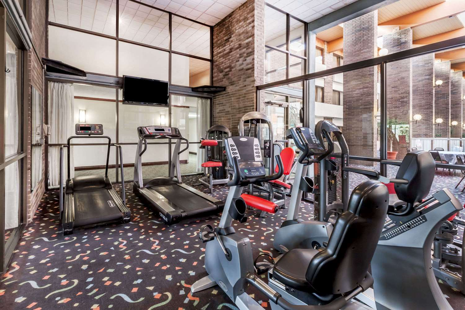 Fitness/ Exercise Room - Ramada Hotel & Conference Center Lansing