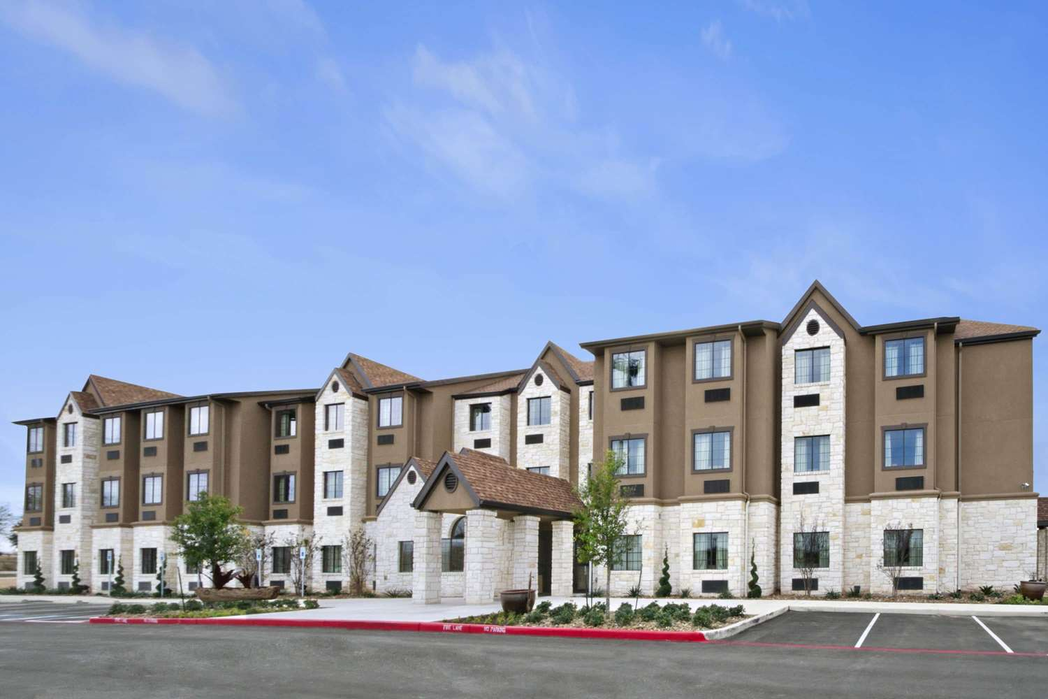 Exterior view - Microtel Inn & Suites by Wyndham Round Rock