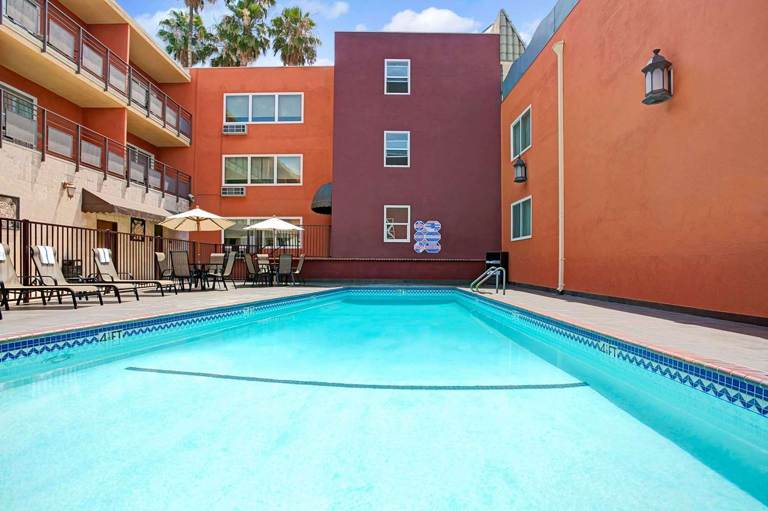 Pool - Ramada Hotel Convention Center Los Angeles