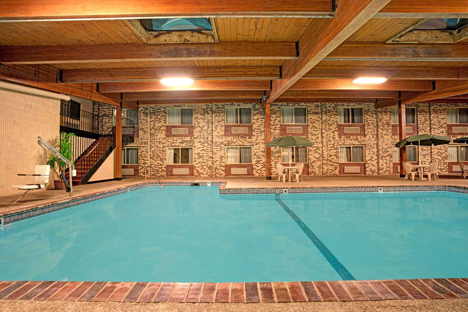 Pool - Super 8 Hotel Monticello