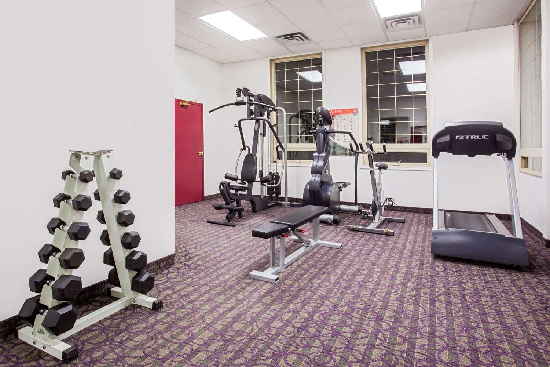 Fitness/ Exercise Room - Ramada Inn & Suites Red Deer