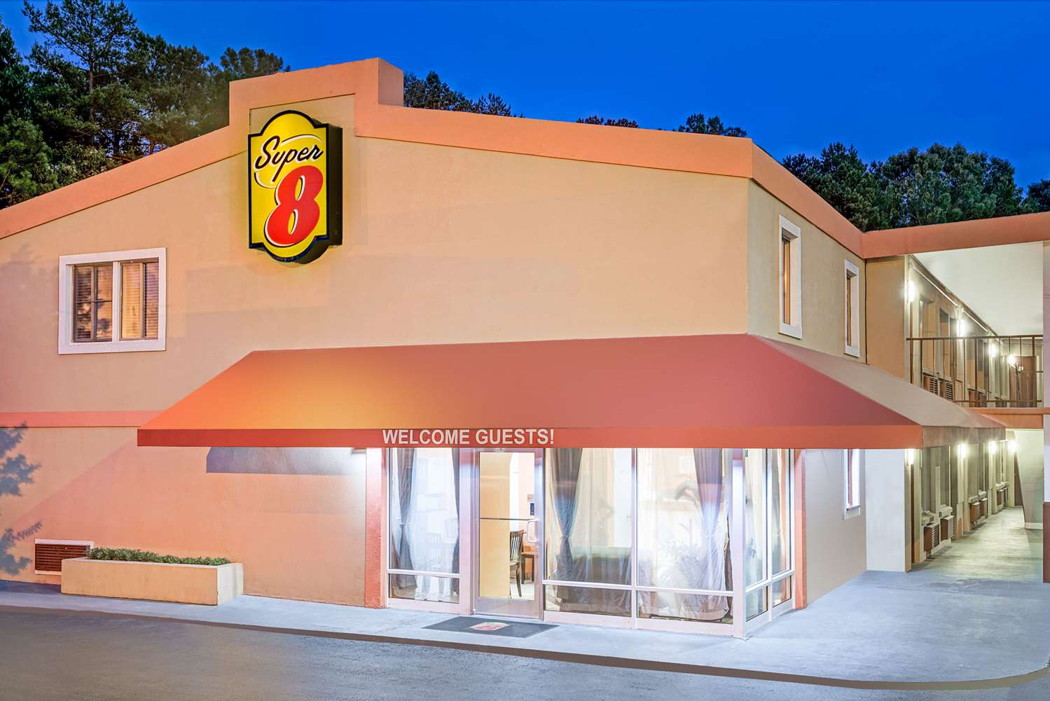 Exterior view - Super 8 Motel West Raleigh