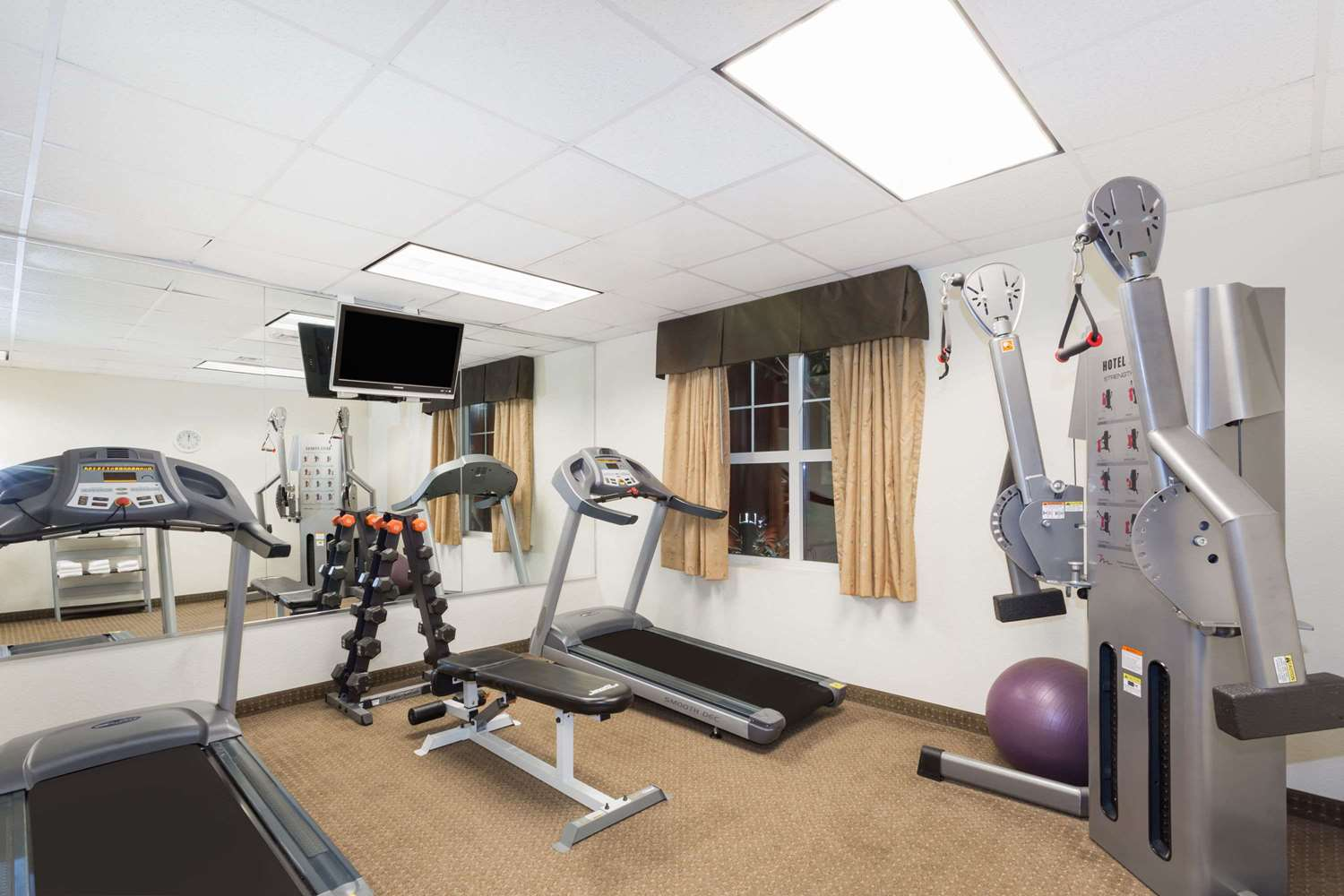 Fitness/ Exercise Room - Hawthorn Suites by Wyndham Panama City Beach