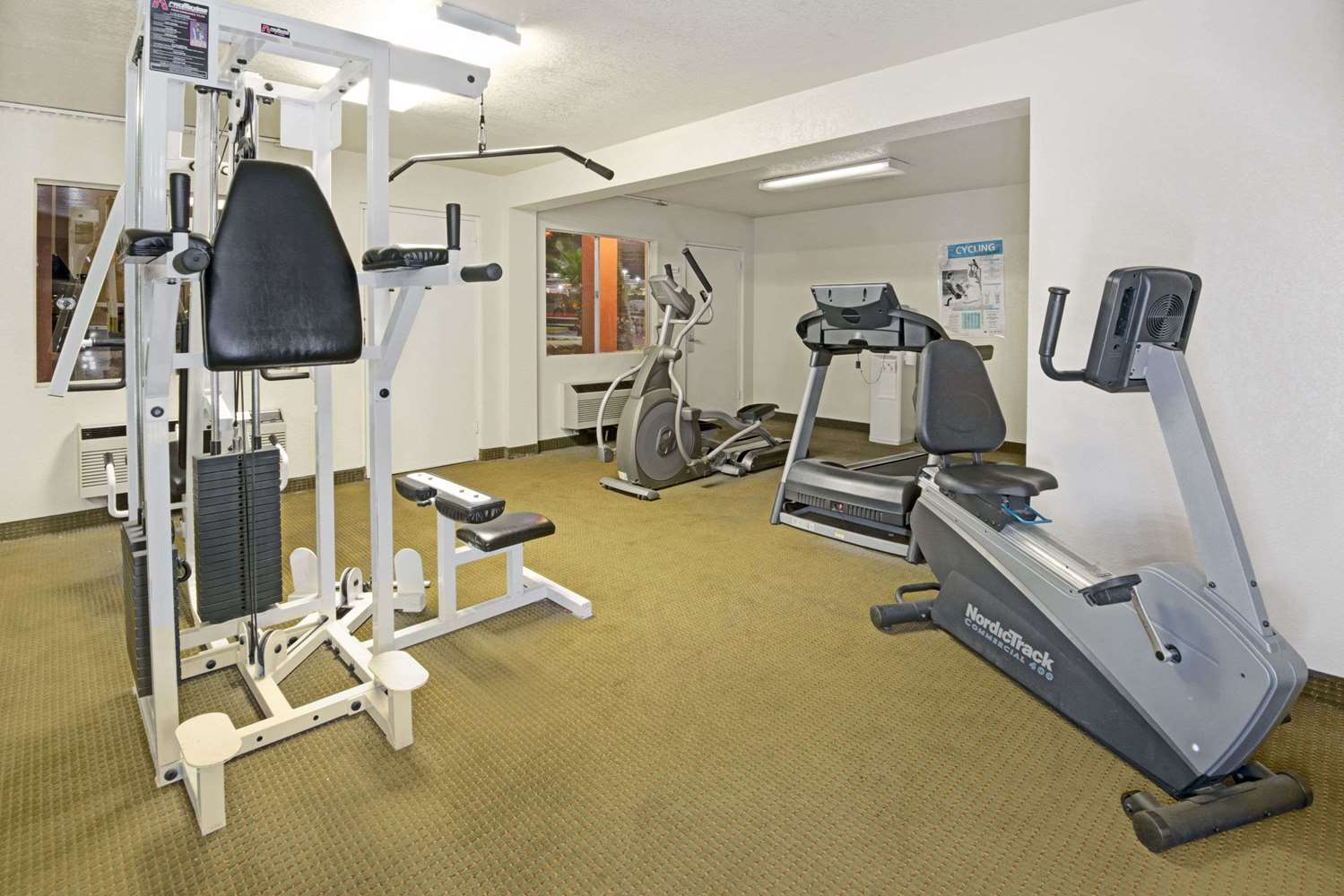 Fitness/ Exercise Room - Super 8 Hotel Airport El Paso