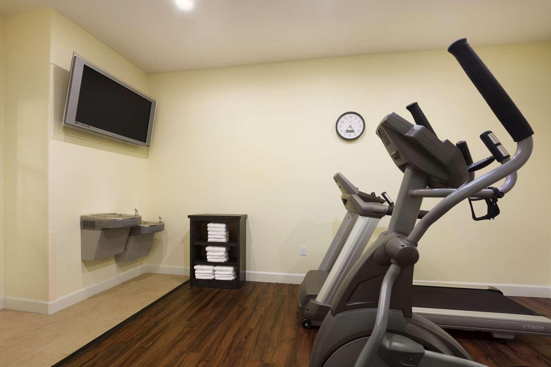 Fitness/ Exercise Room - Days Inn & Suites Galveston