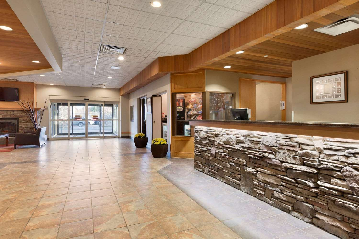 Lobby - Days Inn Lloydminster