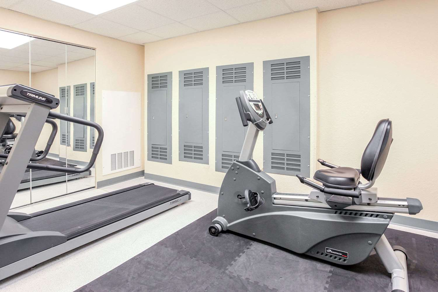 Fitness/ Exercise Room - Super 8 Hotel Sault Ste Marie