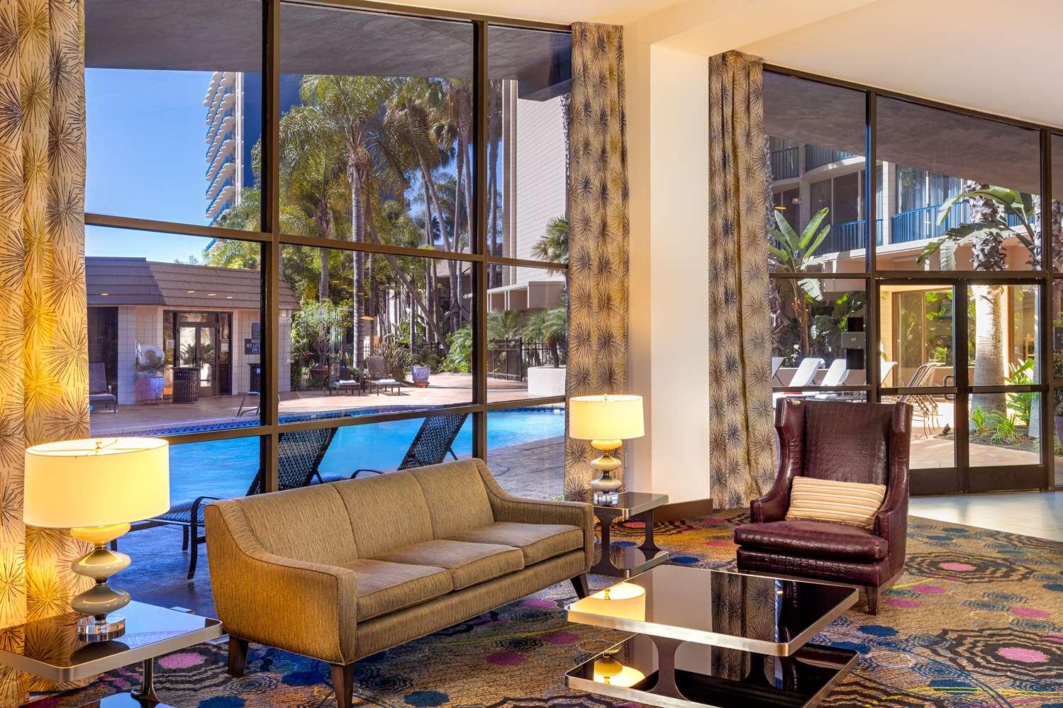 Lobby - Wyndham Hotel Bayside San Diego