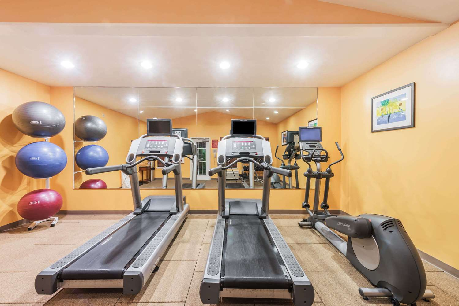 Fitness/ Exercise Room - Hawthorn Suites by Wyndham Medical Center Fort Worth
