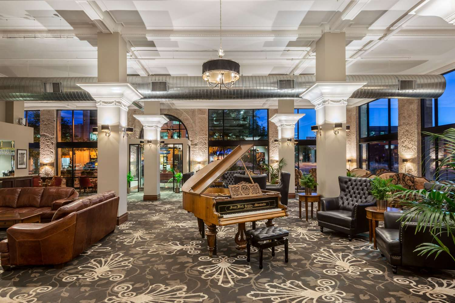 Lobby - Wyndham Grand Mining Exchange Hotel Colorado Springs