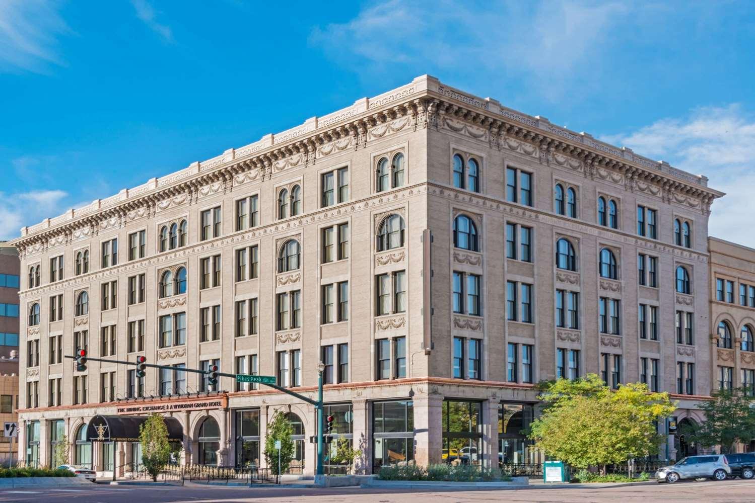 Exterior view - Wyndham Grand Mining Exchange Hotel Colorado Springs