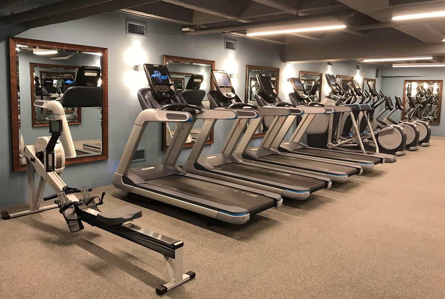 Fitness/ Exercise Room - Washington Plaza Hotel DC