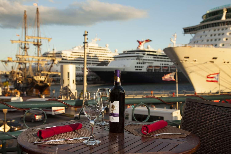 Palio Restaurant Bay Front Terrace