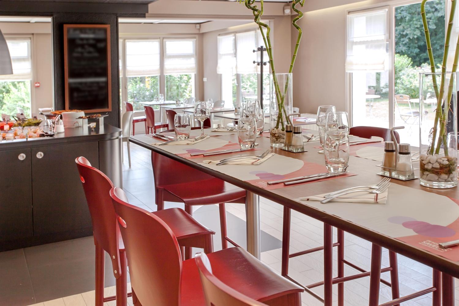 Restaurant - Hotel Campanile Angers Ouest - Beaucouzé