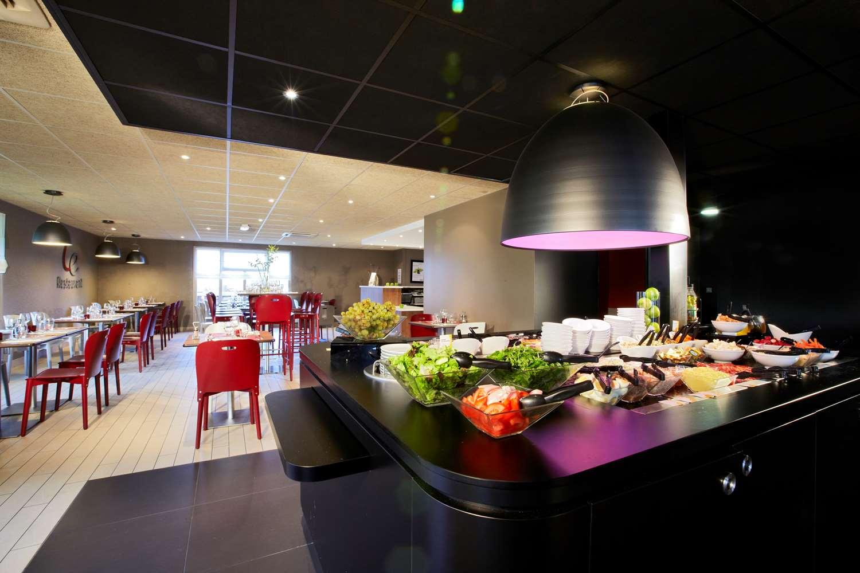 Restaurant - Hôtel Kyriad Caen Nord - Hérouville Saint Clair