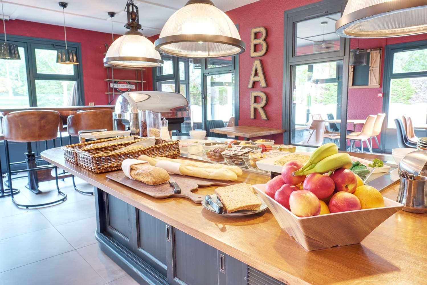 Restaurant - Hotel Kyriad Lille Est - Hem