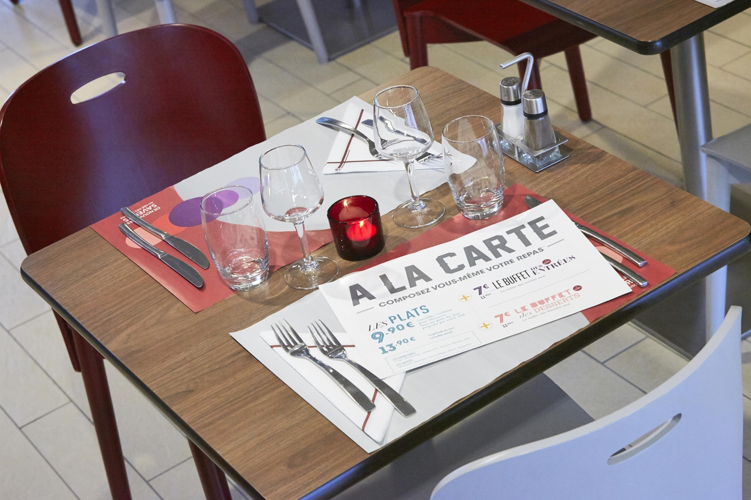 Restaurant - Hotel Campanile Lille - Euralille