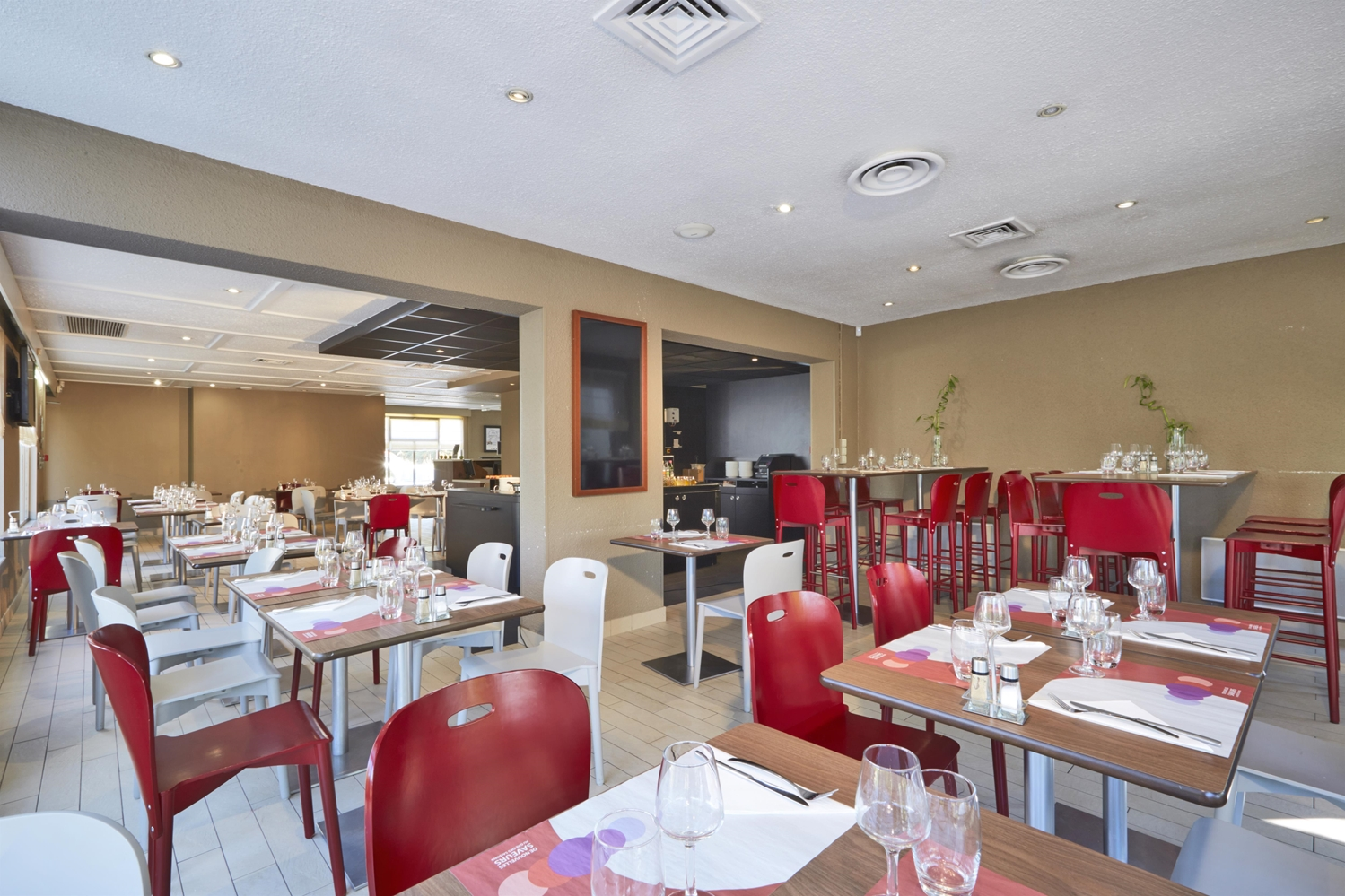 Restaurant - Hôtel Campanile Lyon Nord - Ecully