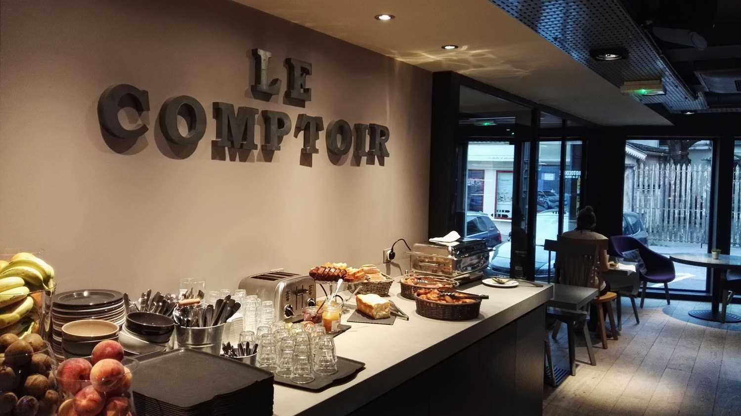 Restaurant - Hotel Campanile Nancy Centre - Gare