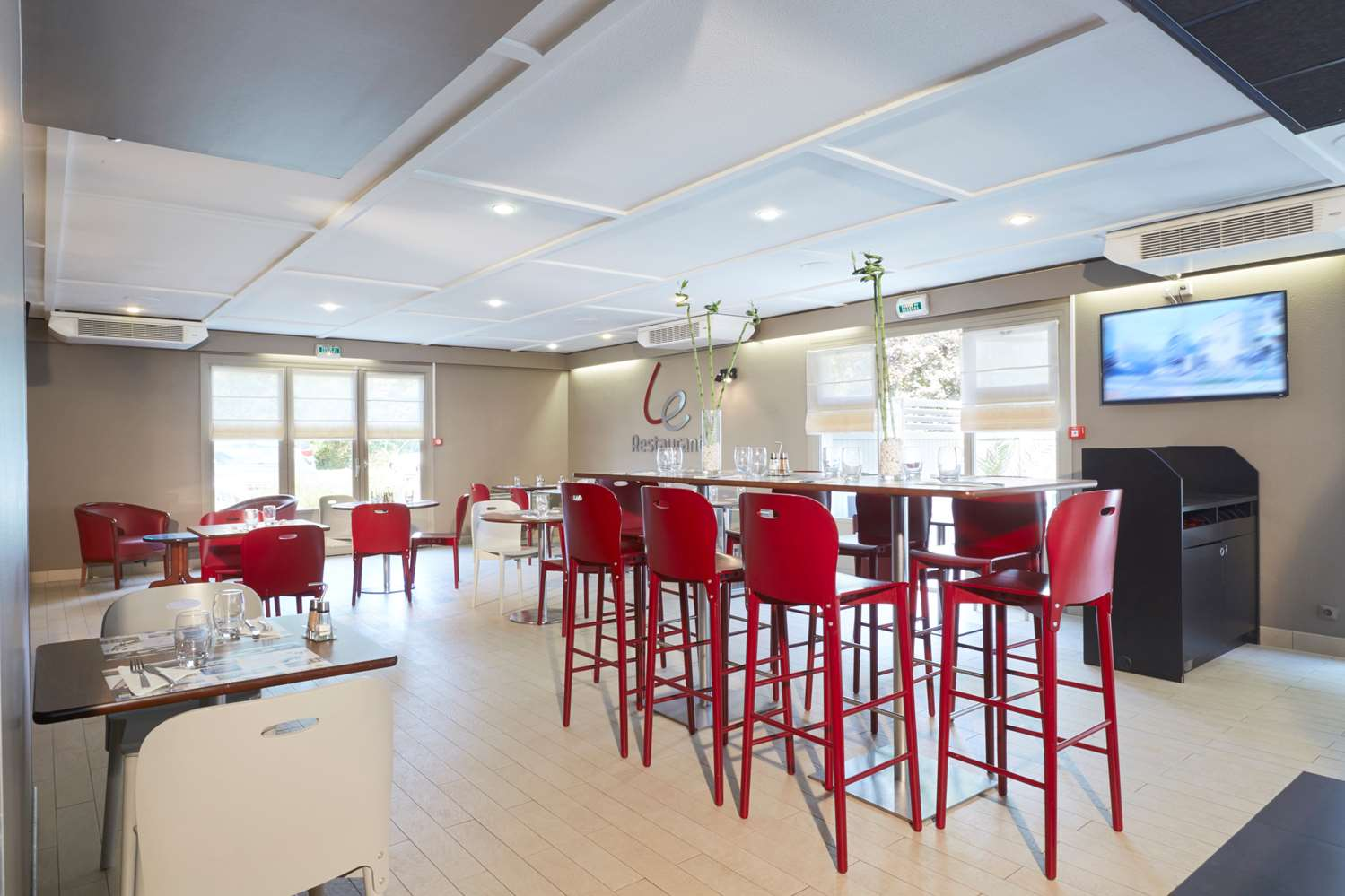 Restaurant - Hotel Campanile Paris Ouest - Gennevilliers Port