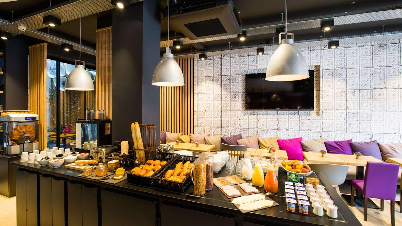 Restaurant - Hotel Campanile Rennes Centre - Gare