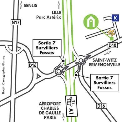 Campanile ROISSY - Saint Witz