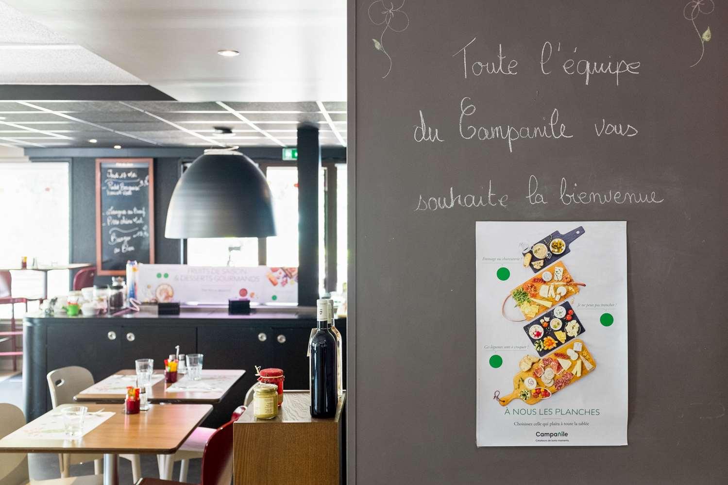 Restaurant - Hôtel Campanile Saint Brieuc - Langueux