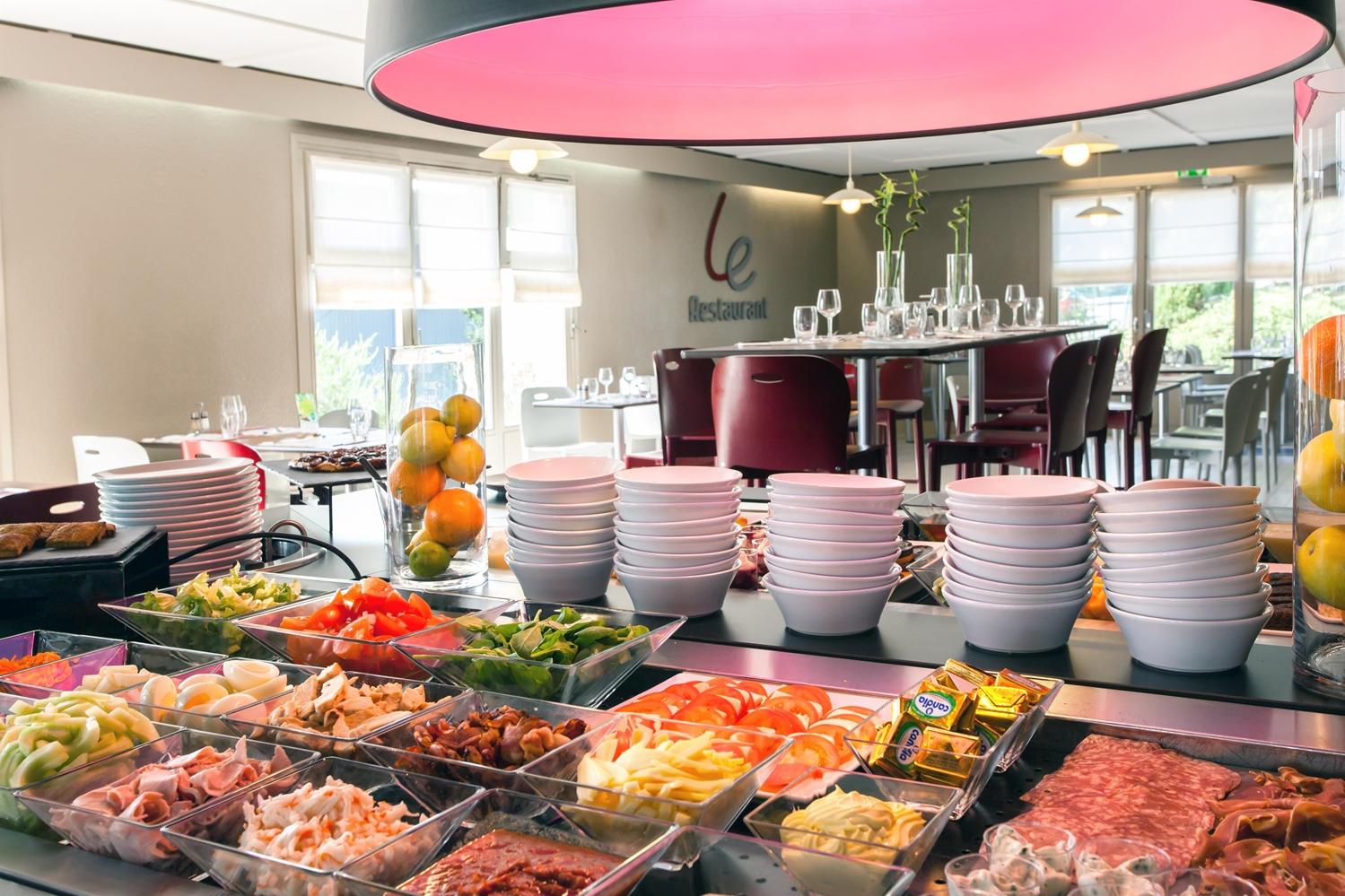Restaurant - Hotel Campanile Saint Malo - Saint Jouan Des Guérets