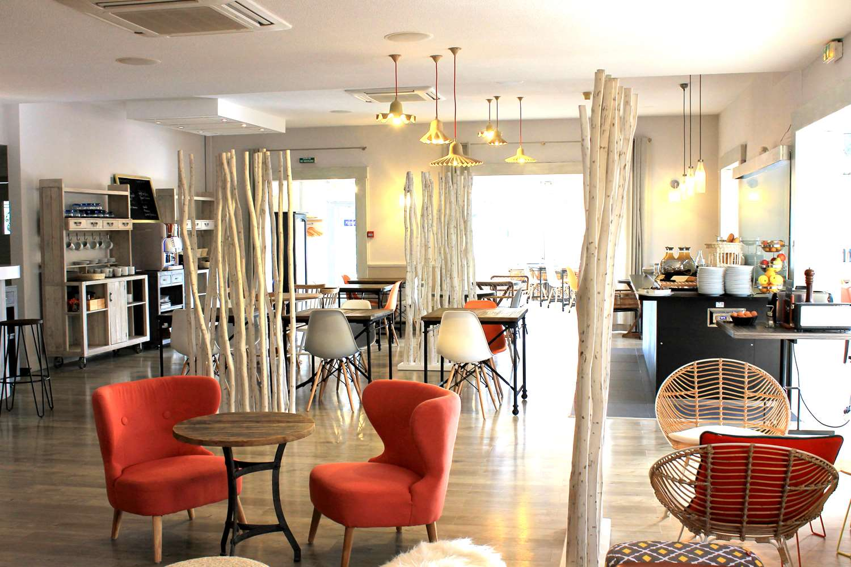 Restaurant - Hotel Kyriad Lyon Est - Bron Eurexpo Le Cottage